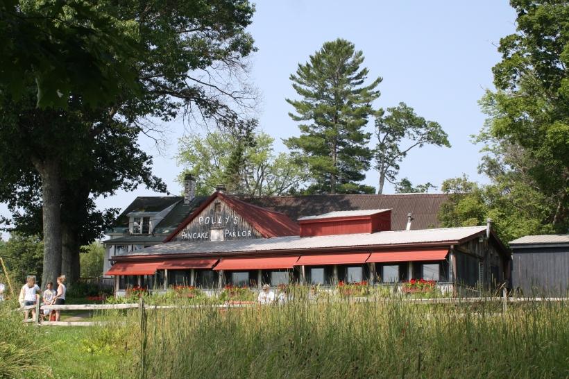 le bâtiment du restaurant de pancakes